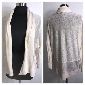 Joie 100% Linen Open Cardigan Size XS